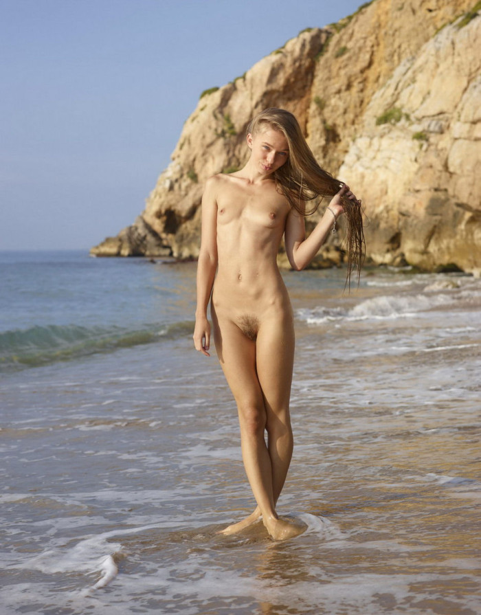 Naked beach hairy consider