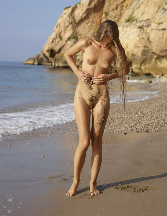 Sexy thin beach girls nude something is