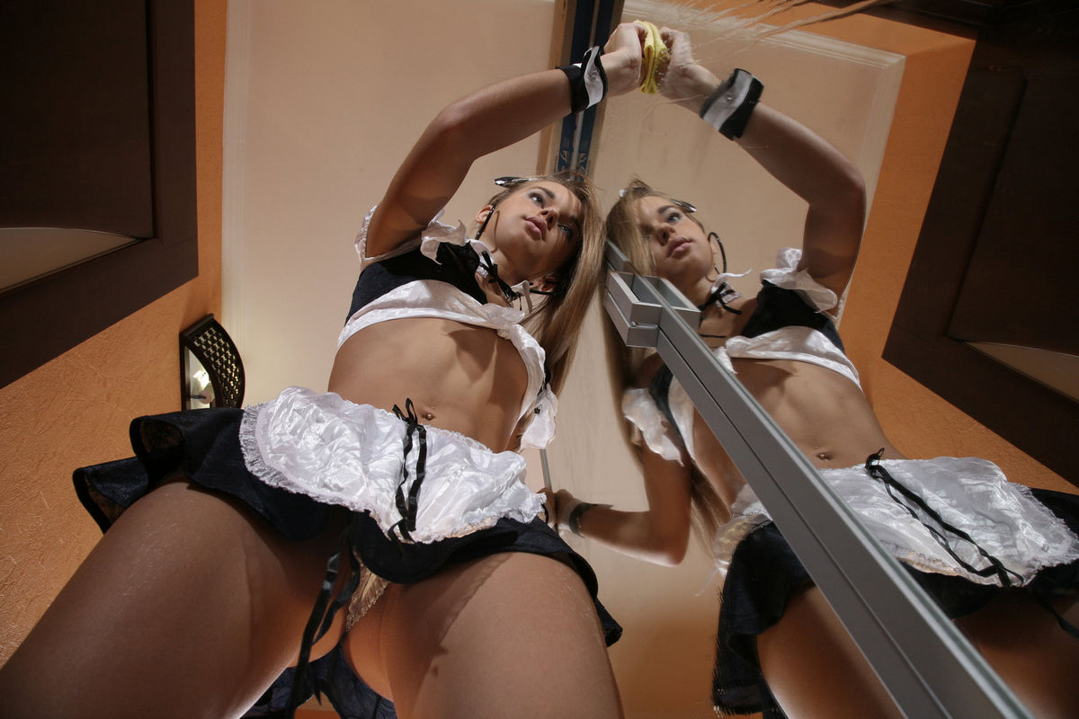 работница дом молодая секси