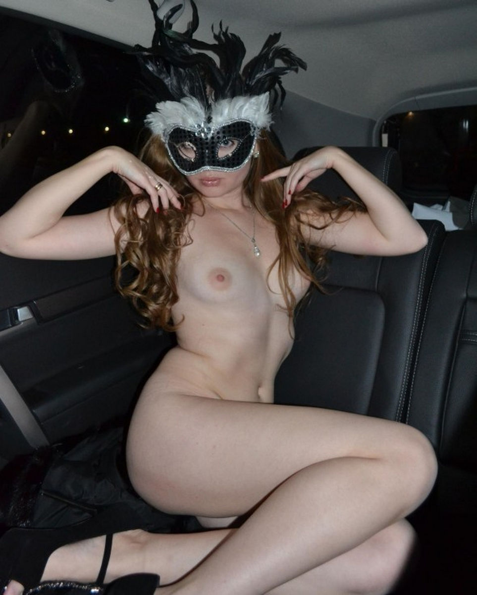 Sexy naked women masks