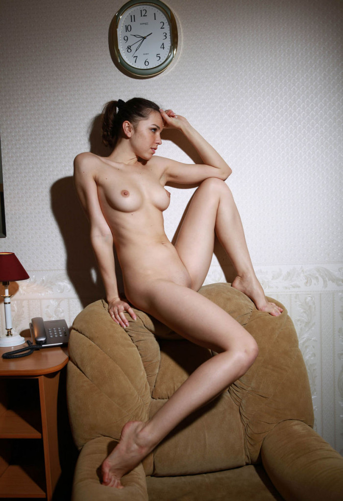 Busty And Cute Russian Girl Widely Spread Her Legs At Hotel Room  Russian Sexy Girls-4498