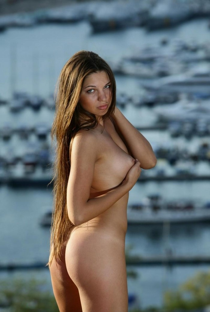 Beautiful brunette long hair girls nude agree, excellent