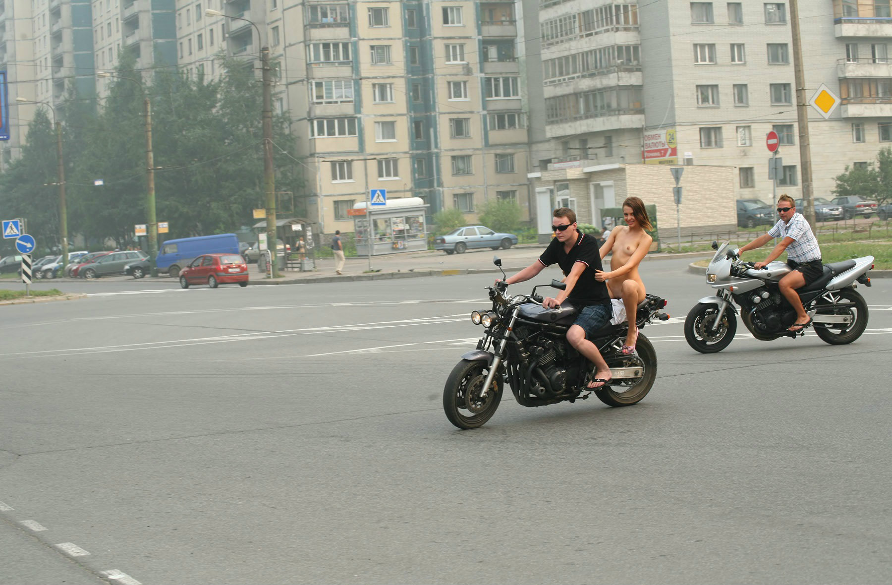 A Ride In Russia