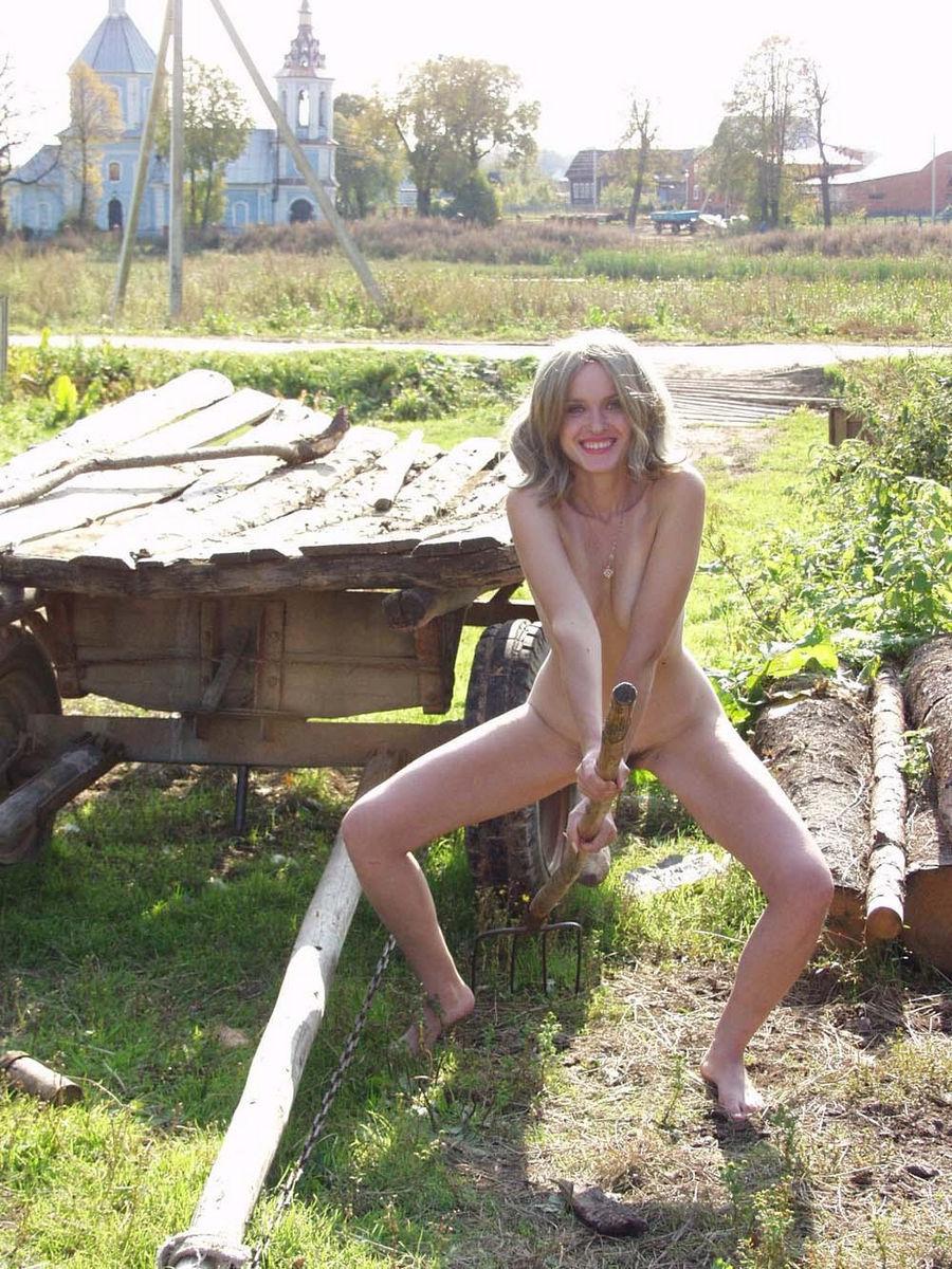 Sexede Blonde Land Piger