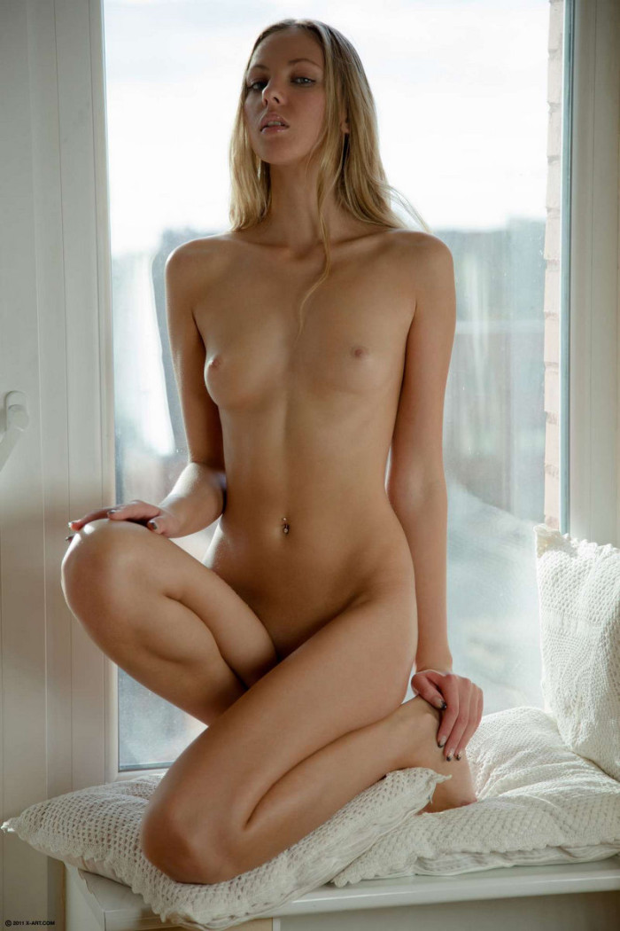 Hot small blonde