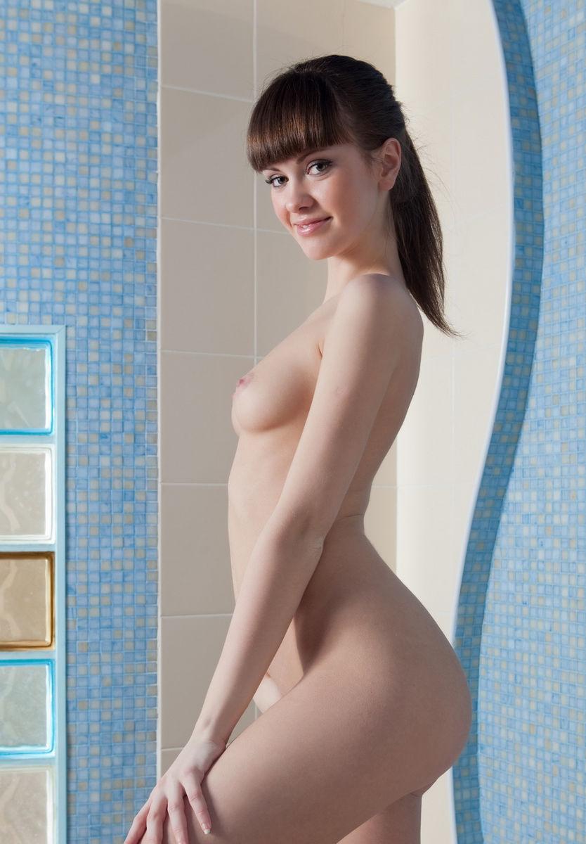 naked girls washing bikes