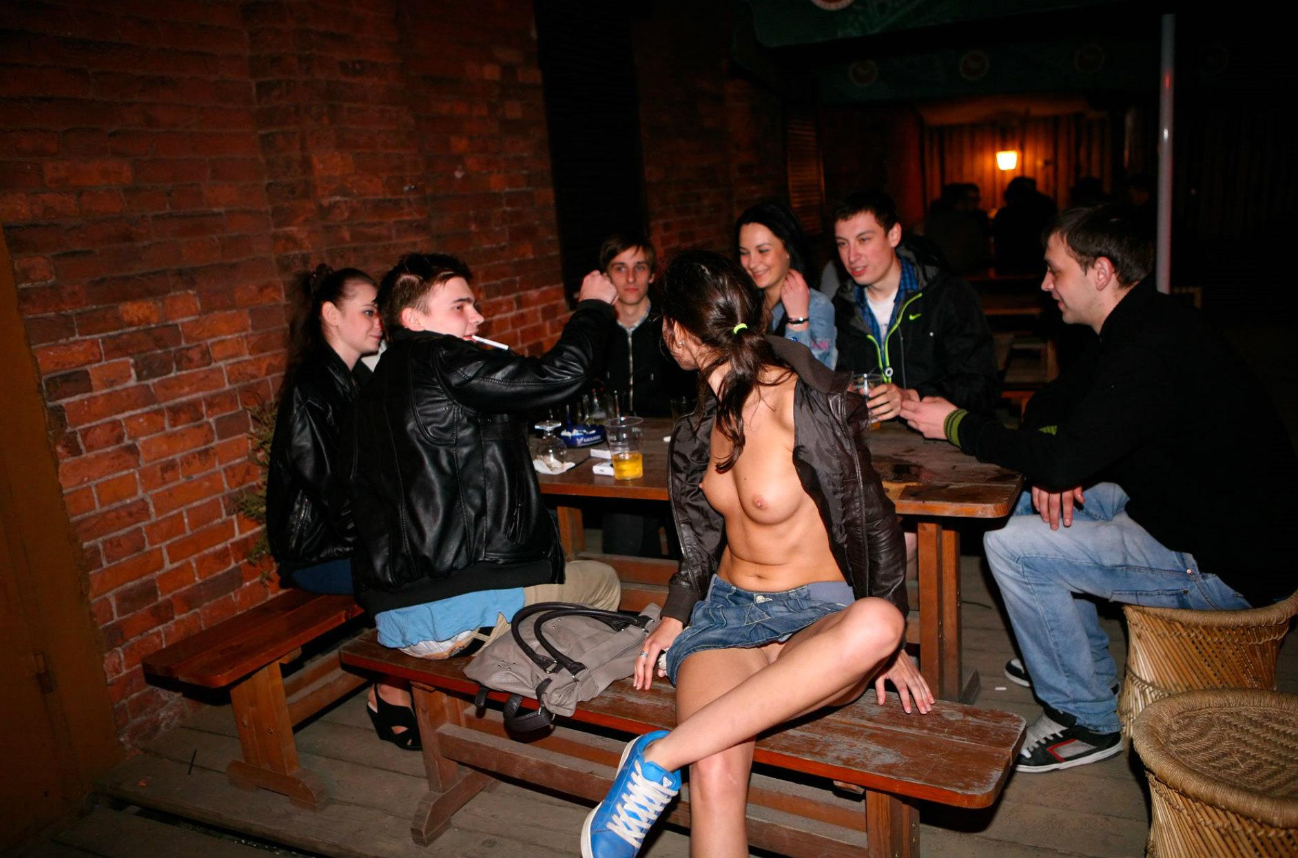 Girls in tight jean
