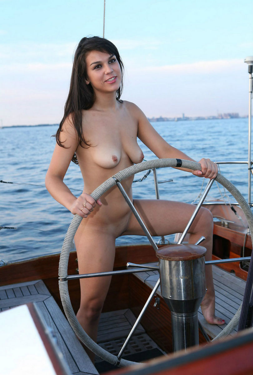 Chicks going in boats naked crazy