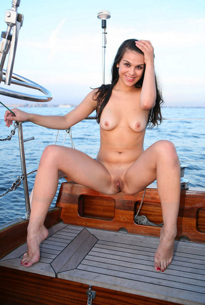 nude babes in canoes