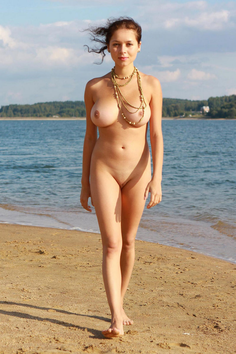 You beach nude girl