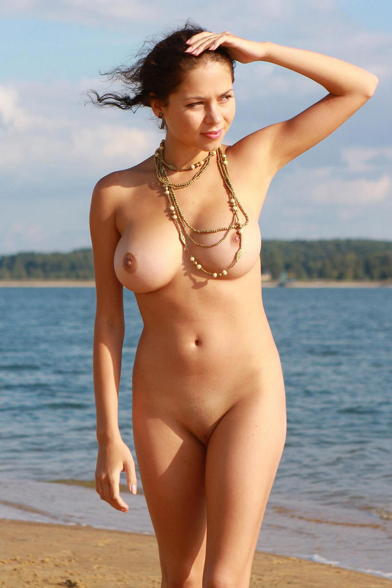 Nude beach on naked girls cute