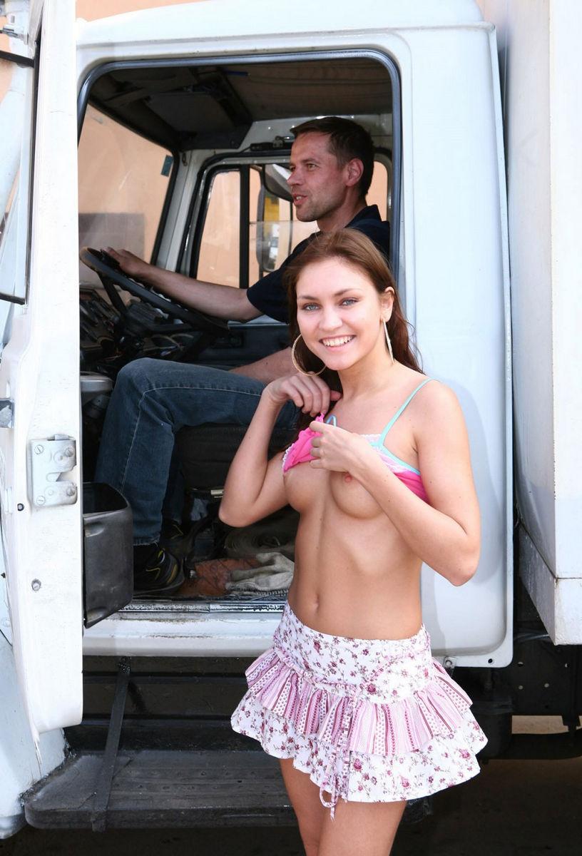 russian babe in scottish skirt