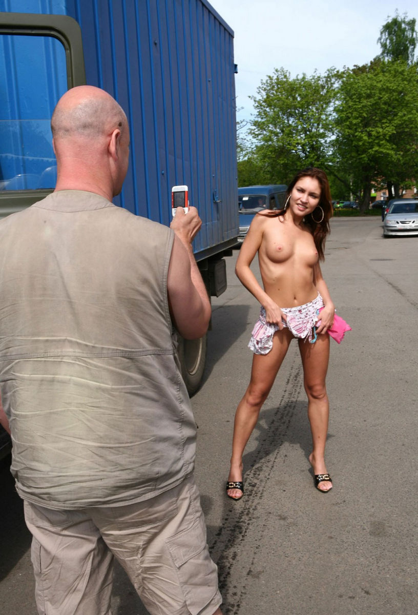 from Bode sexy nude girl on street