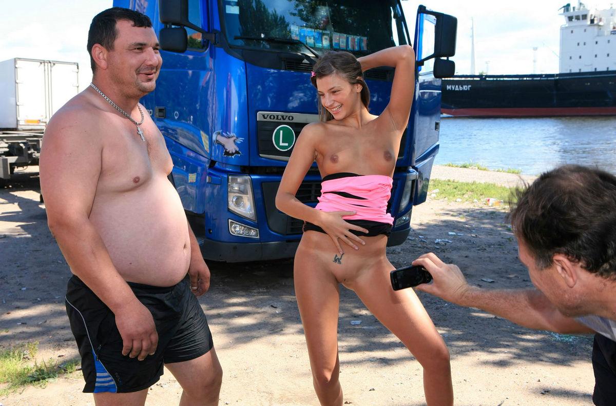 Trucker Babes Nude