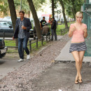 Summer photos of on russian blonde flasher