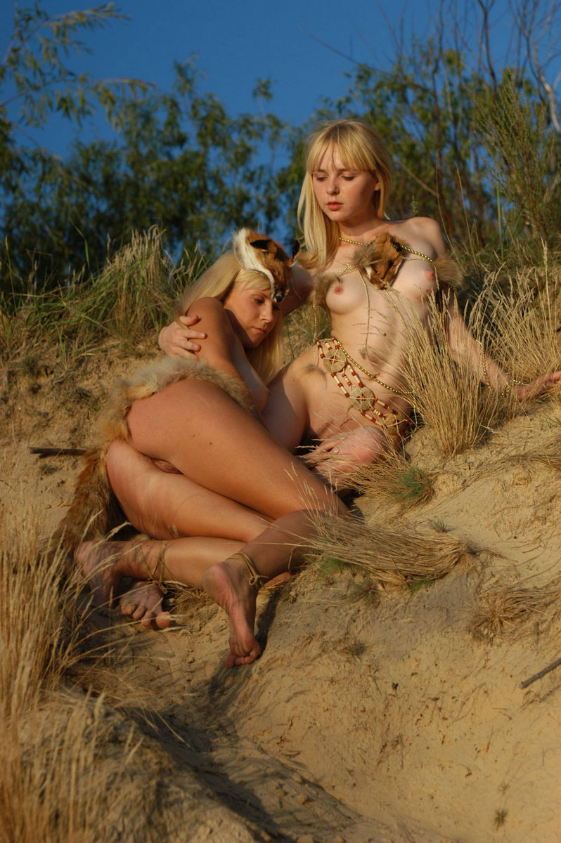 Naked blond Amish girls
