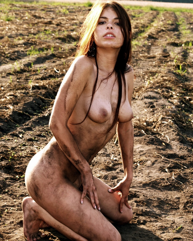 Pity, hot naked muddy girl from