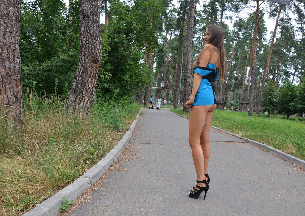 Dress No Panties Public