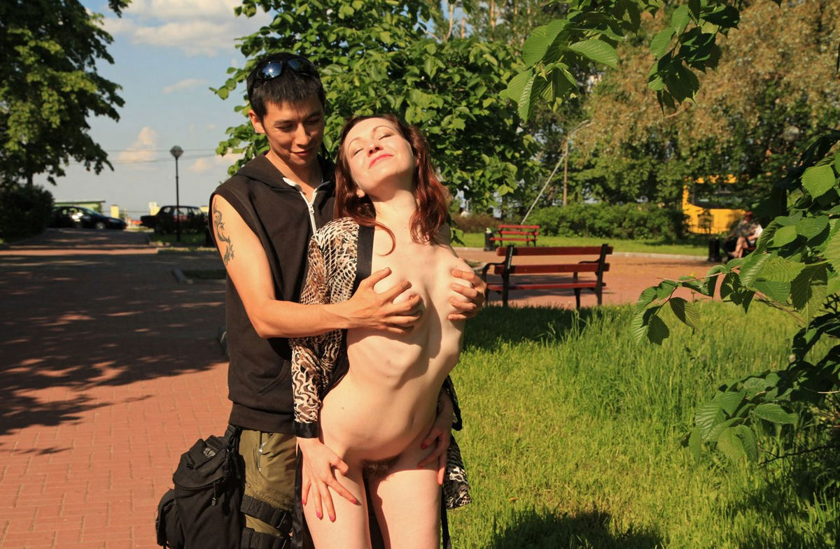 Interesting. Tell Naked girls touched in public
