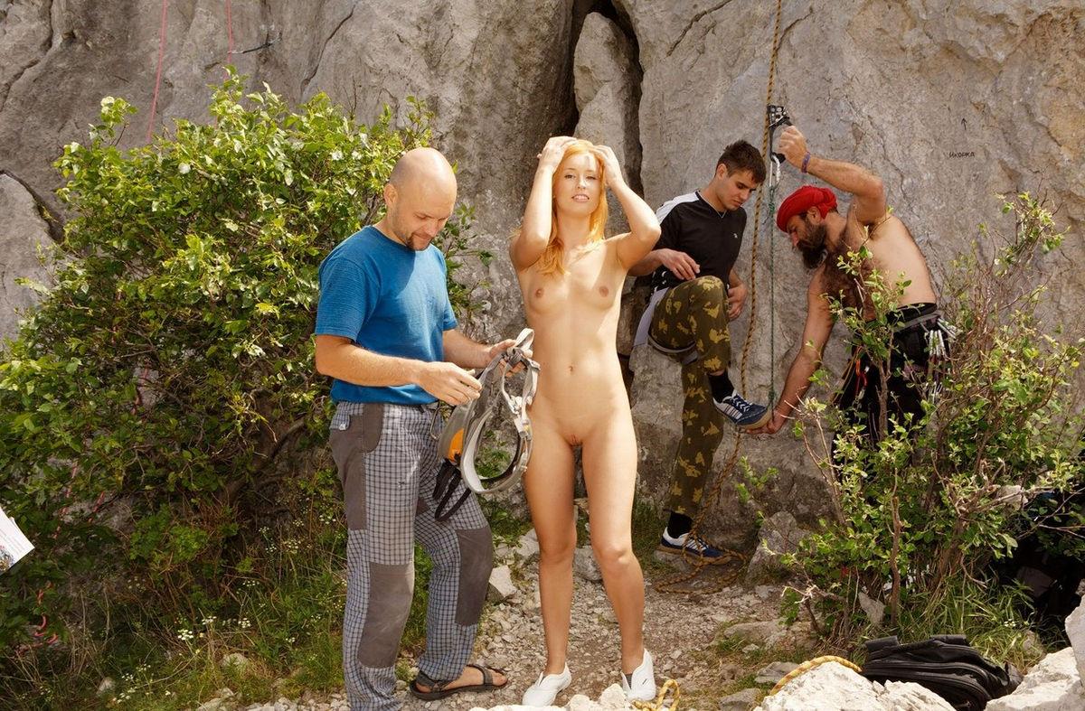 Family nudist movie