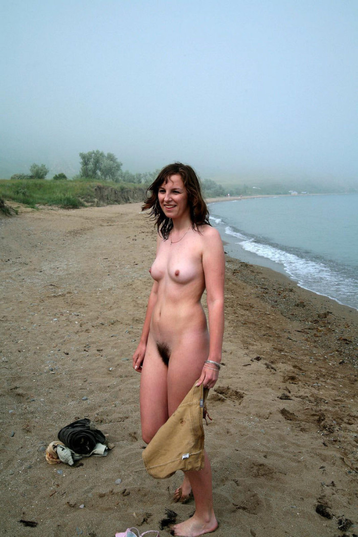 Girl With Very Hairy Pussy On The Beach  Russian Sexy Girls-8624