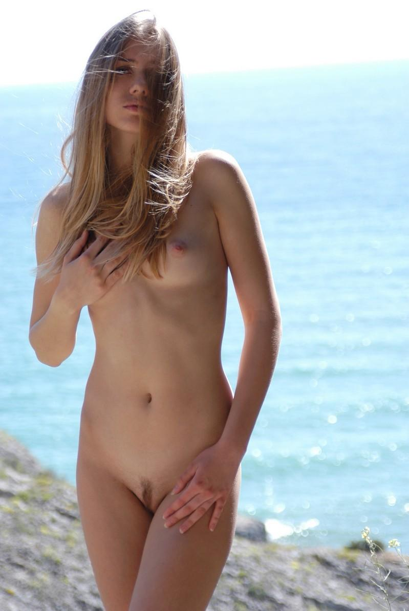two naked girls with small breasts
