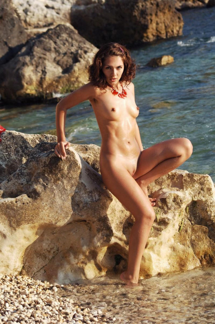 Nude Shaved Beach