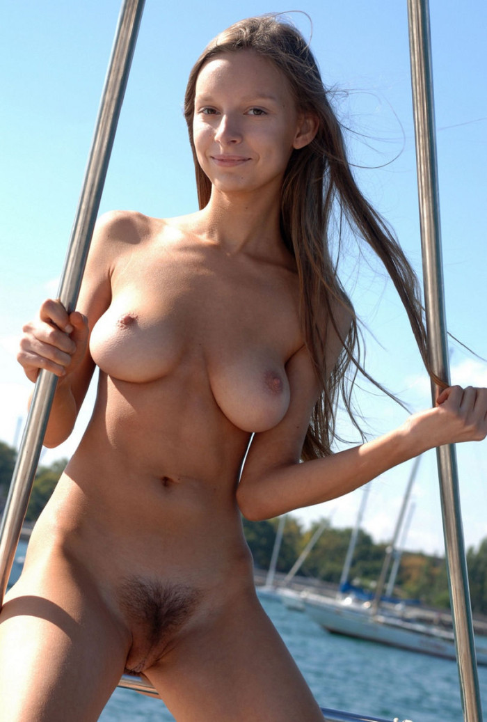 Perfect Teen Sailor With Amazing Big Soft Boobs And Hairy -8484