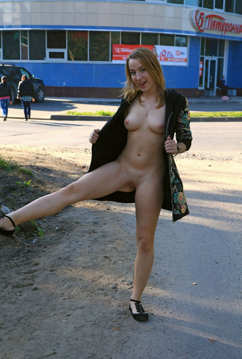 Teen Tits In Public