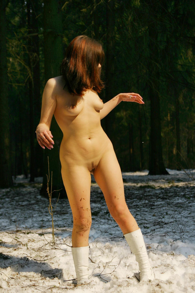 sexy naked girls in forest