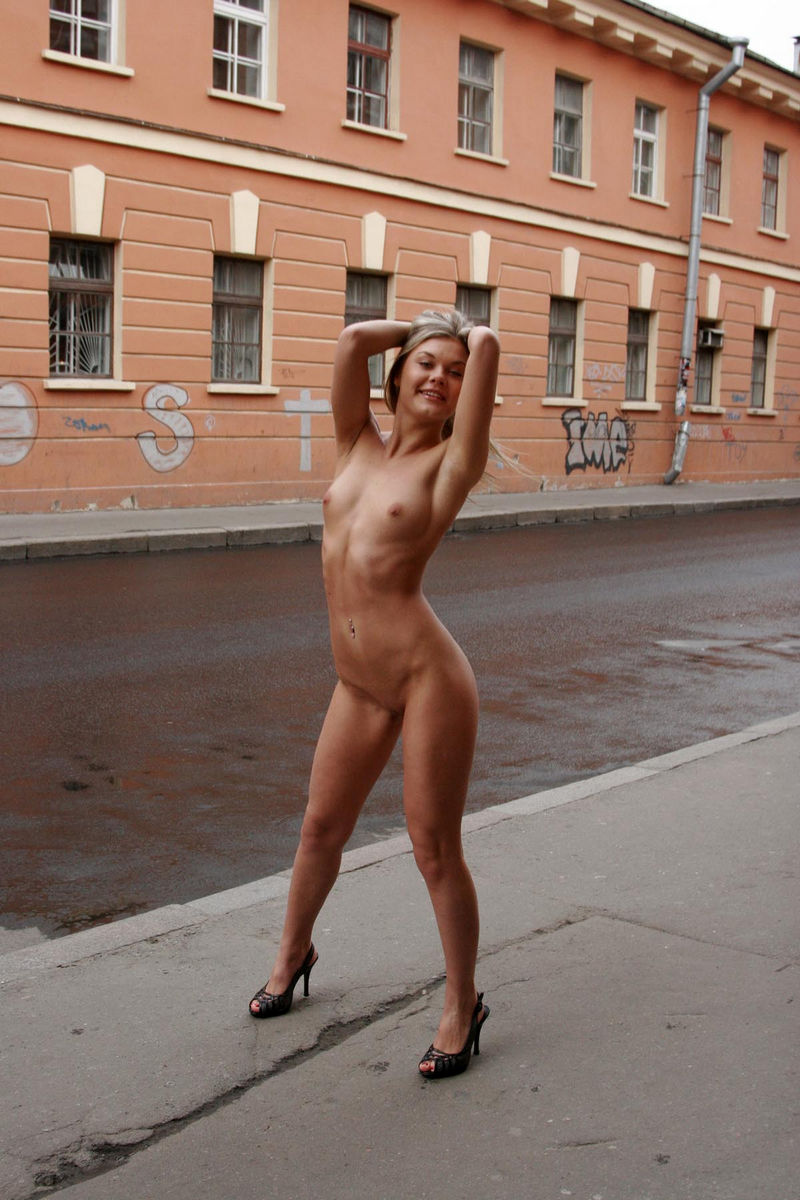 Nude in the streets