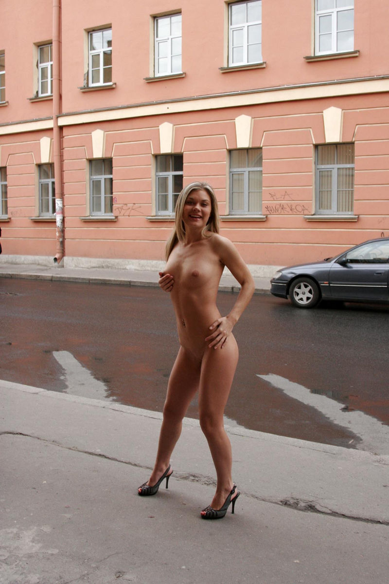 Russian wife topless walking speaking, you