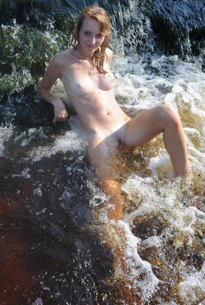 Sexiest Babe Undressing In Mountain River  Russian Sexy Girls-6668
