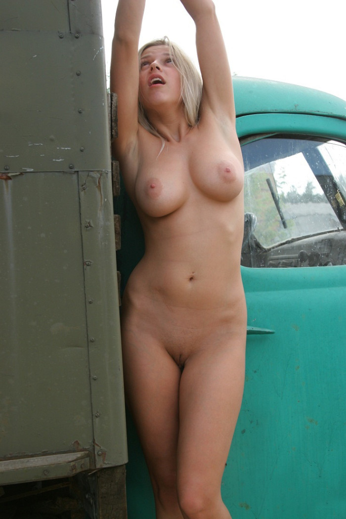 Authoritative old trucks and hot nude girls well! opinion