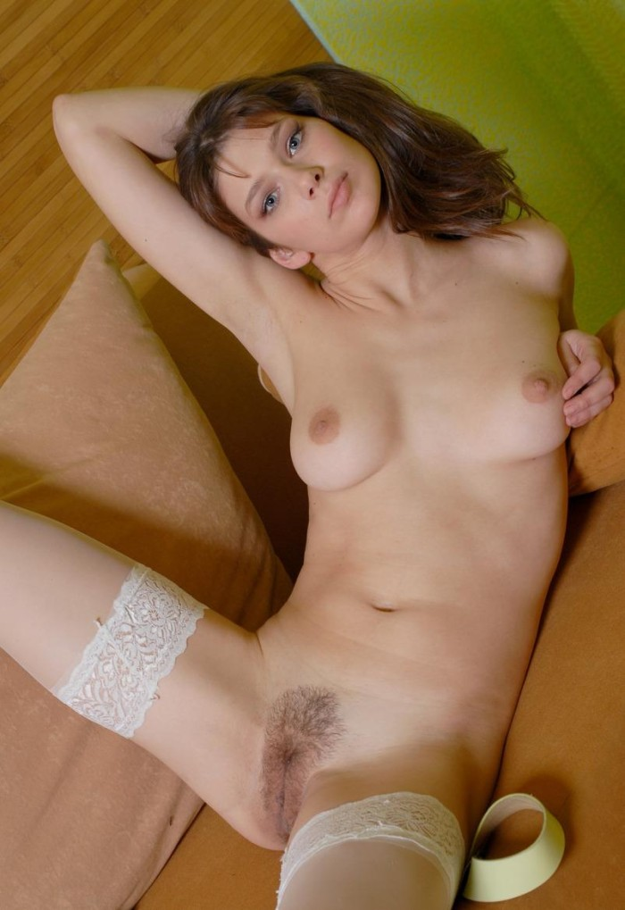 Theme, very hot babe in white nylons share your