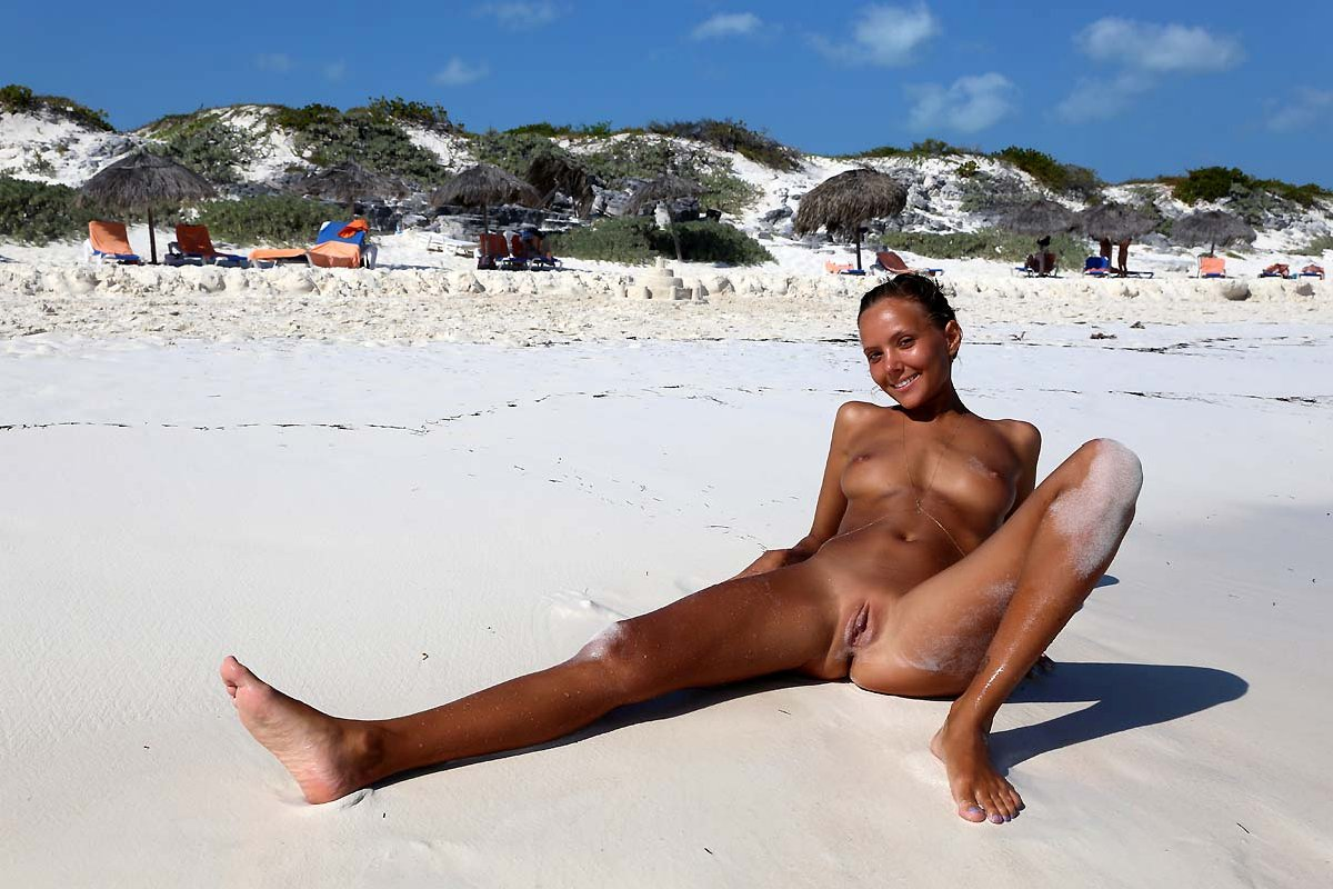 In russian aunties nude beach