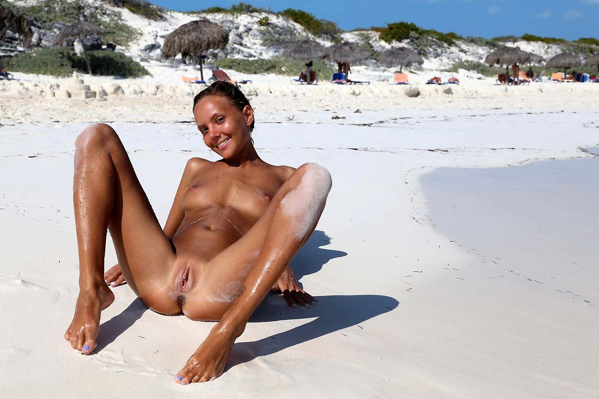 young cock beach nude