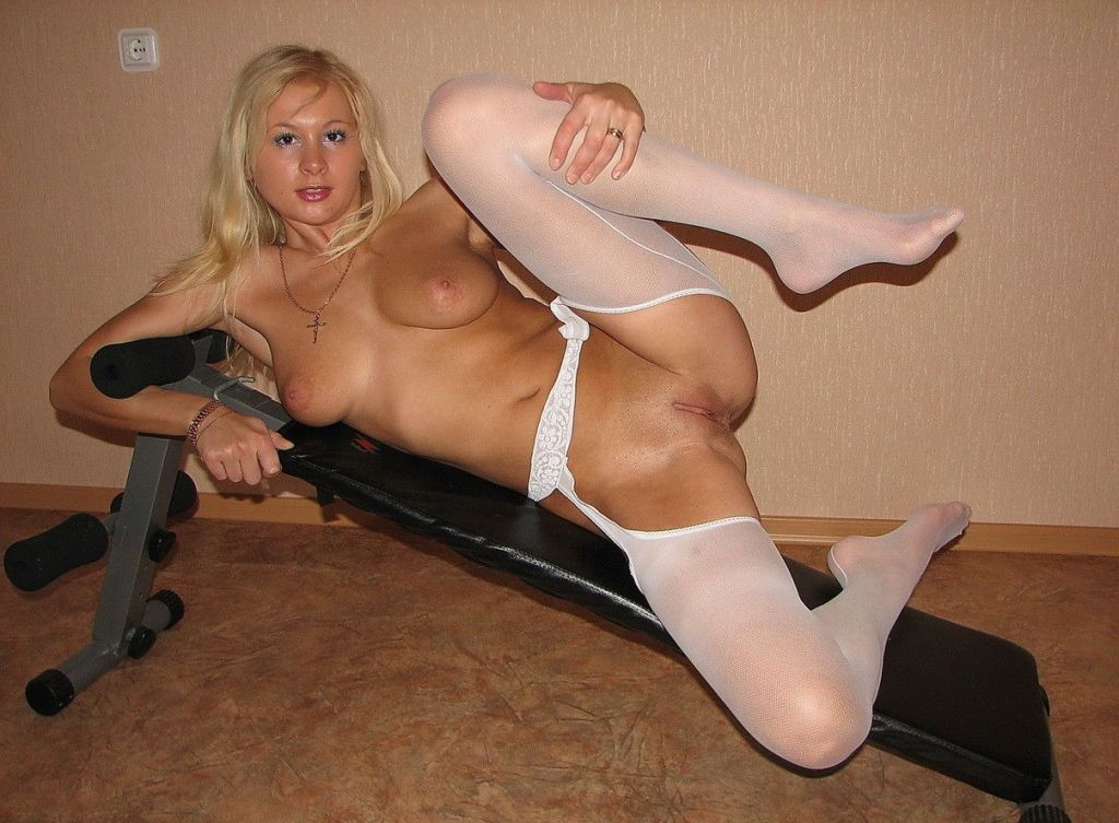 Shaved nylon stockings consider