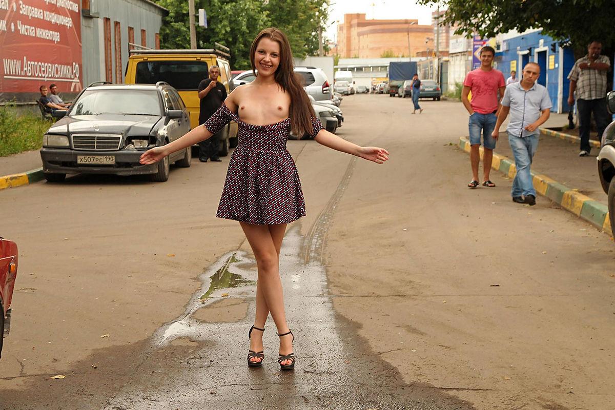Russian street sluts