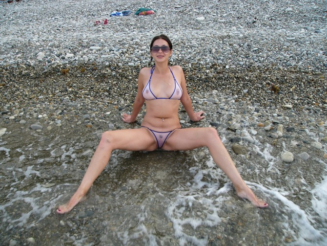 Bikinis amateur wives in