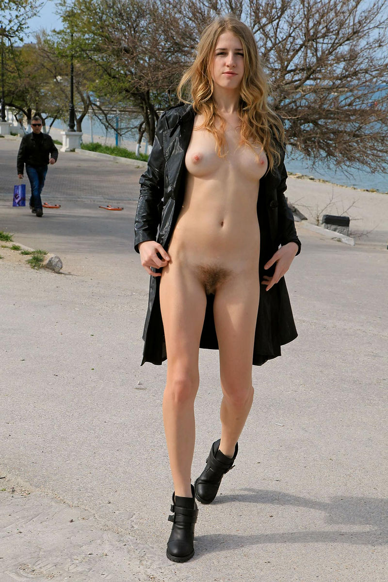 Hairy girl nude in public remarkable