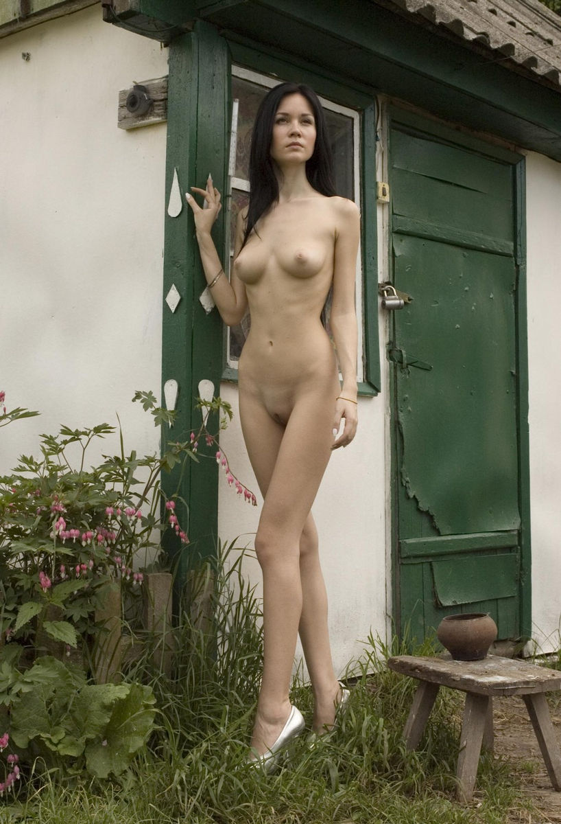 Skinny spanish chick nude #9