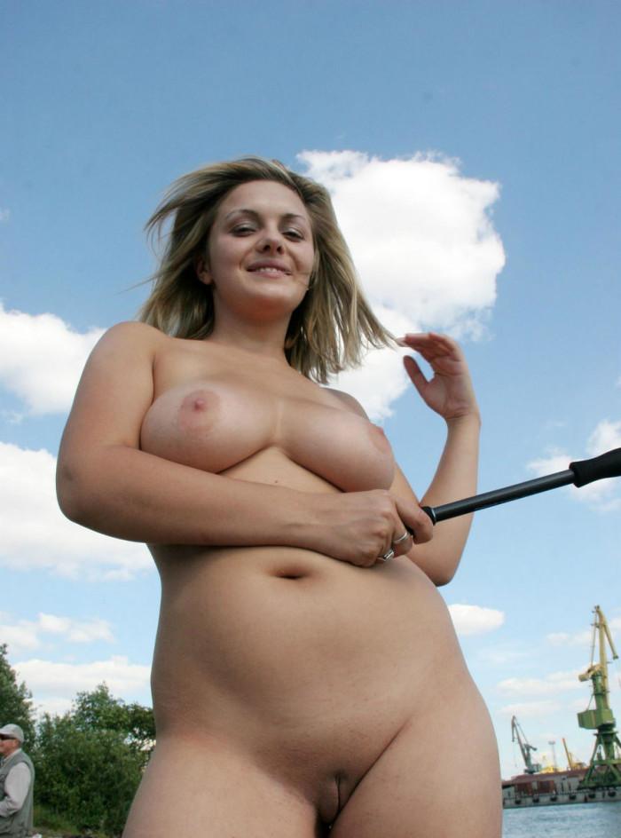 shows boobs Girl big