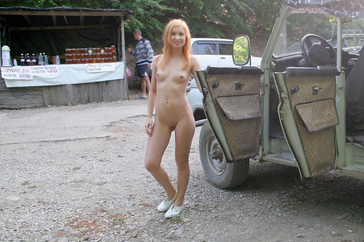 nude walking in russia