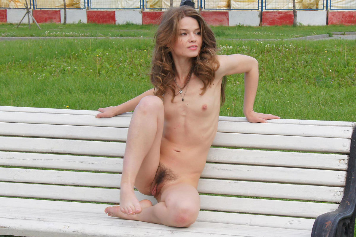 Skinny Doll Anna With Small Tits And Big Hairy Pussy At -1884