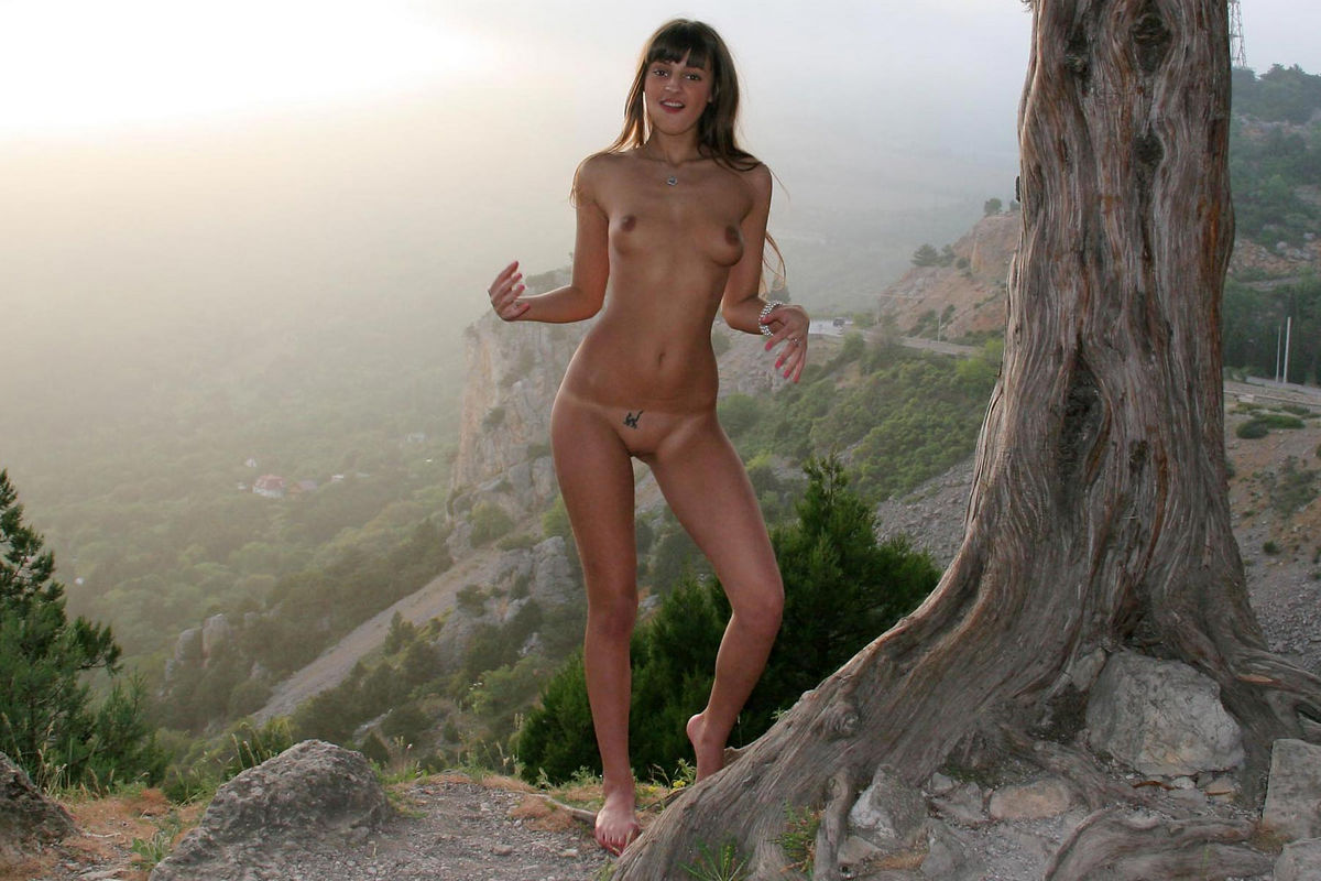 Join. Girl nude mountain think, that