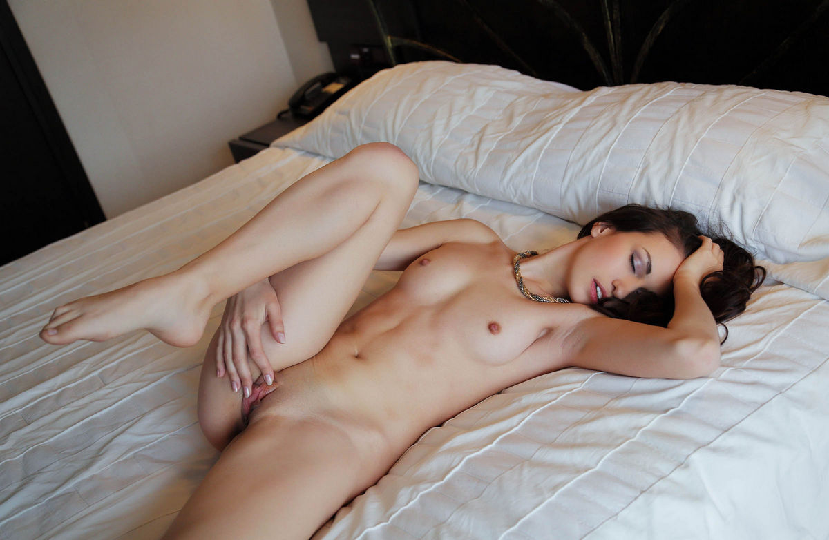 Above sexy naked brunette ass in air ideal answer