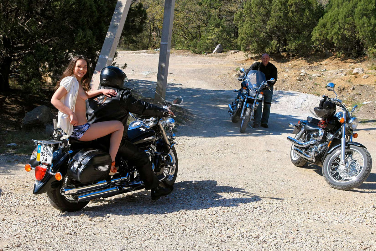 hairy girls on motorcycles