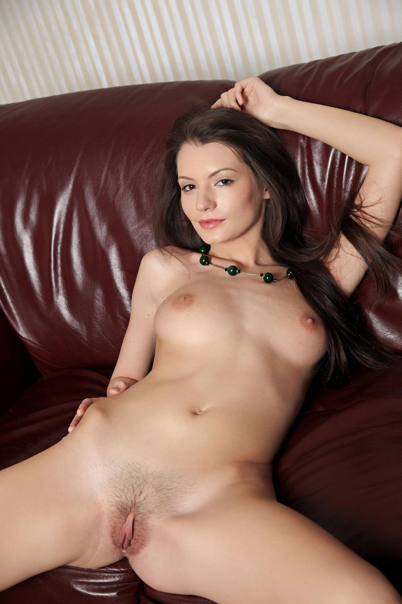 A sexy brunette shows her blow job skills sucking 4 big black cocks alternately