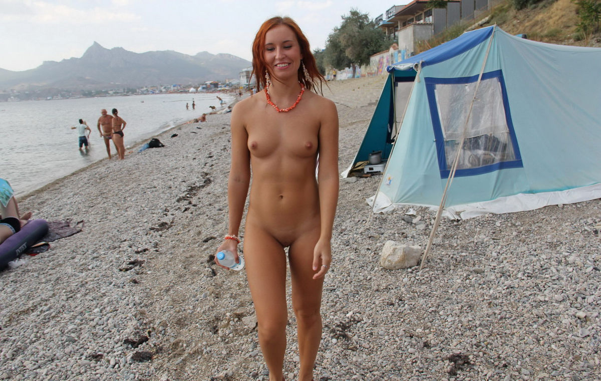 naked camping girls